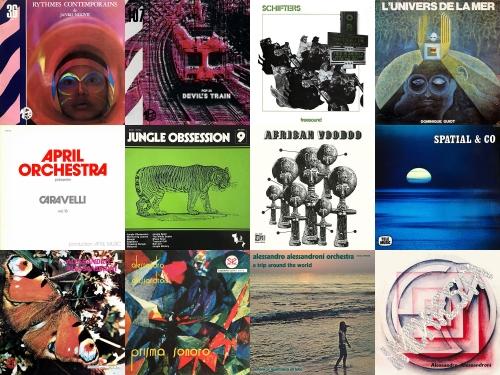 library music, Farfalla records